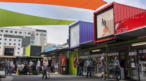 Container mall tenants look to next step
