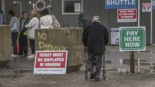 Christchurch Hospital visitors face parking mess, while closer council parking building sits half-empty